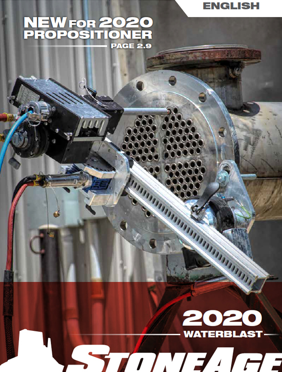 2020 StoneAge Waterblast Tools Catalog